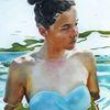 See, Sommer, Haut, Malerei