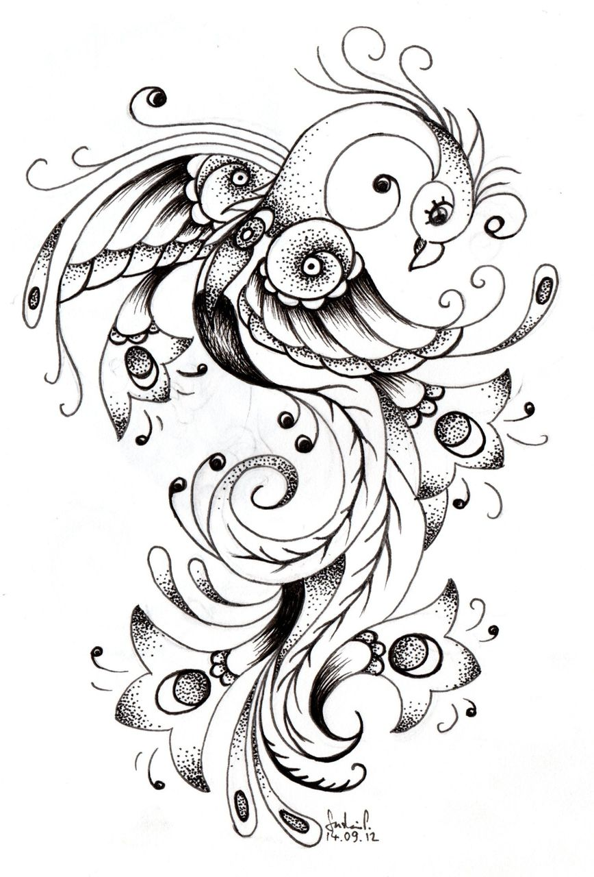 bild fineliner pfau tattoo zeichnungen fantasie von skafreak bei kunstnet. Black Bedroom Furniture Sets. Home Design Ideas