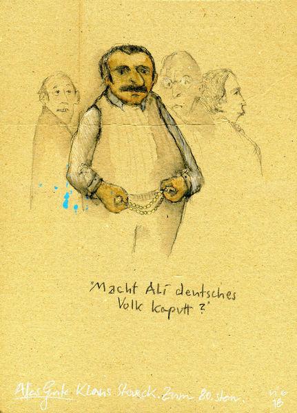Staeck, Demokratie, Volk, Zeichnungen,