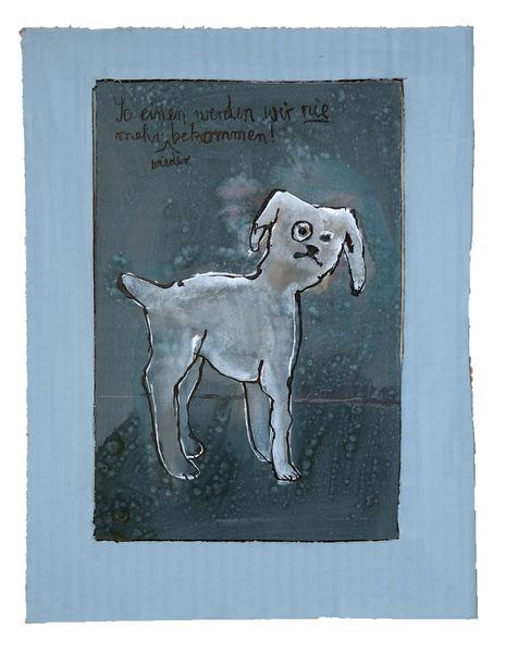 Solingen, Hund, Stadt, Zeichnungen, Schlecht