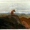 Fuchs, Atmen, Rückzug, Malerei