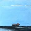 Haus, Himmel, Meer, Malerei