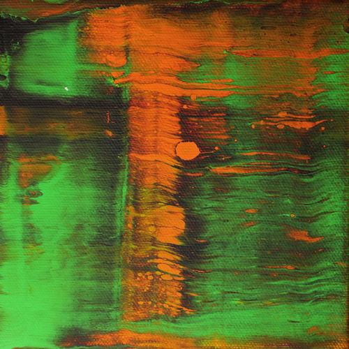 Groß, Acrylmalerei, Hammer, Abstrakt, Spontan, Meisterwerk