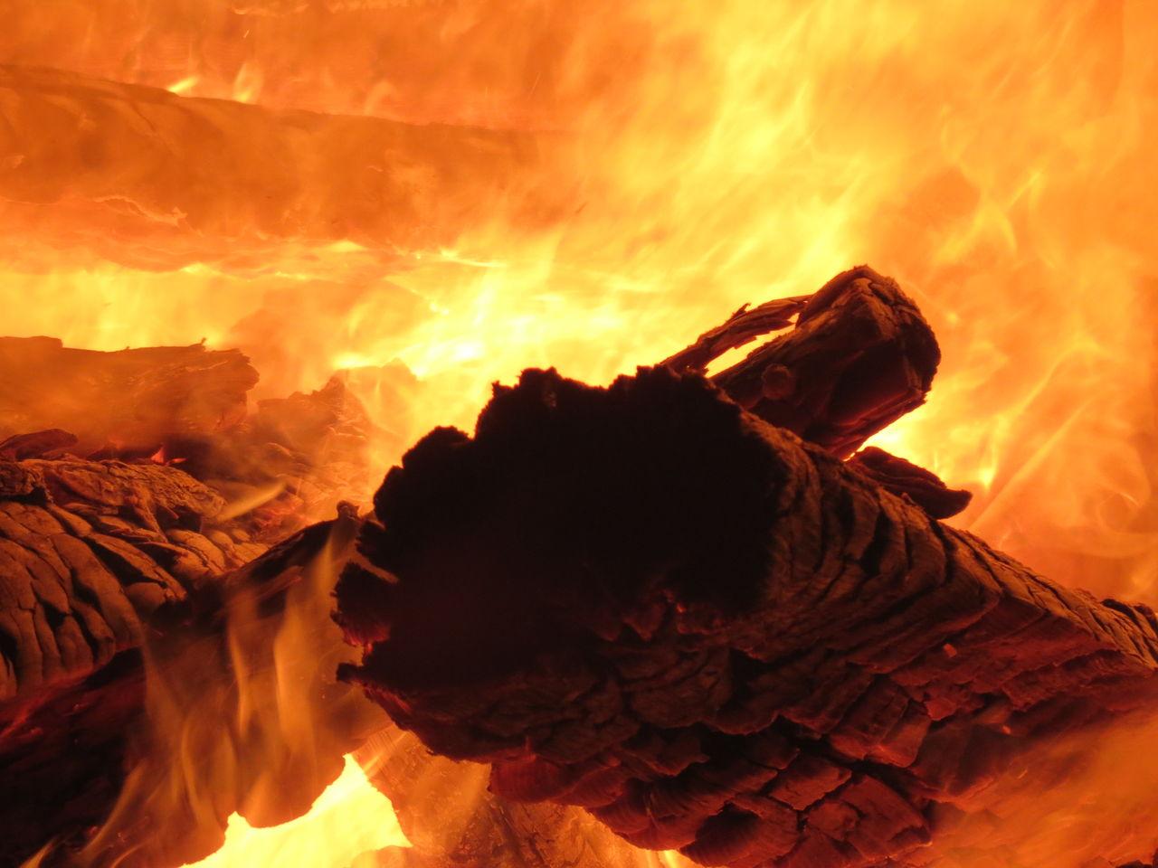bild lagerfeuer feuer holz brennen von elke p bei kunstnet. Black Bedroom Furniture Sets. Home Design Ideas