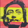 Fahne, Acrylmalerei, Spanien, Spanisch