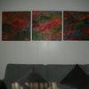 Acrylmalerei, Kn17, Holzbildhauerei, Mischtechnik