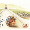 Illustration, Spinne, Fantasie, Kinderbuch