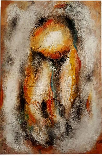 Sand, Tusche, Zeichnen, Acrylmalerei, Malen, Modern