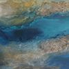 Natur, Acrylmalerei, Struktur, Meer