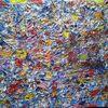 Abstrakt, Acrylmalerei, Bunt, Strukturmalerei