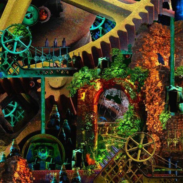 Architektur, Surreal, Digitale kunst, Composings