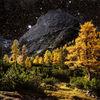 Himmel, Berge, Herbst, Alpen