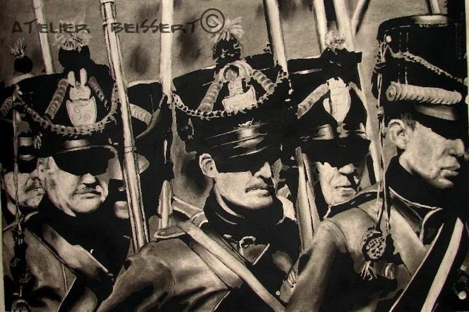 Drache, Éme, Sachsen, Militaire, Armee, Dragoner
