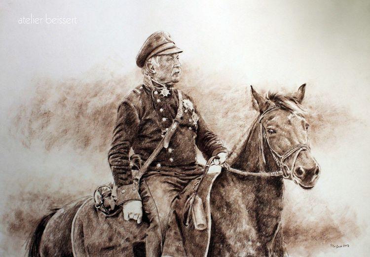 Living history, Reiter, Befreiungskriege, Geschichte, Napoleon, Leipzig