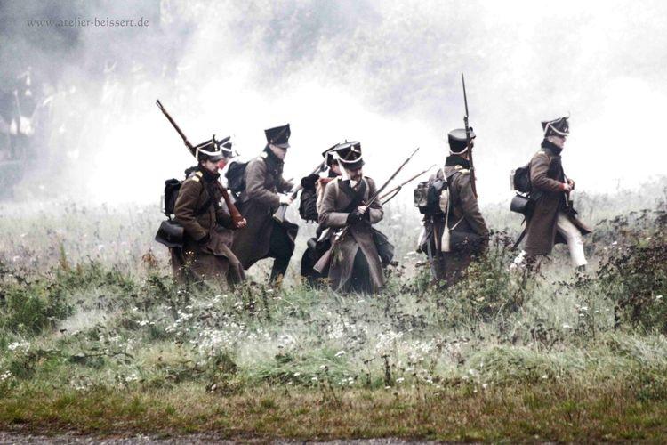 Napoleon, Reenactment, Leipzig, Agra, Völkerschlacht, Fotografie