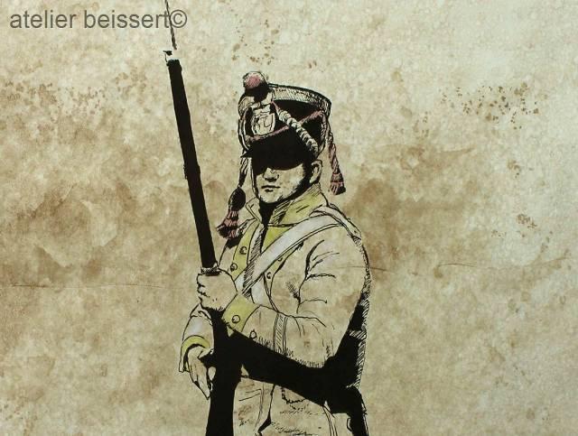 Sachsen, Grenadier, Historie, Geschichte, Frankreich, Tschako