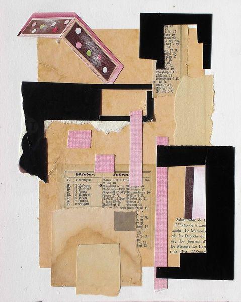 Collage abstract, Abstrakte kunst, Intuition, Paperwork, Schrift, Gefühl