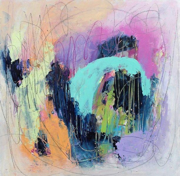 Acrylmalerei, Gefühl, Acrylpainting, Gemälde, Abstrakt, Mixed media