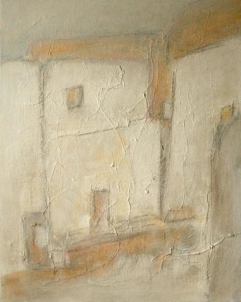 Häuser, Malerei, Malerei 2014