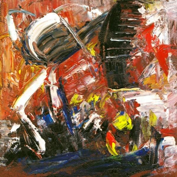 Ölmalerei, Abstrakt, Malerei