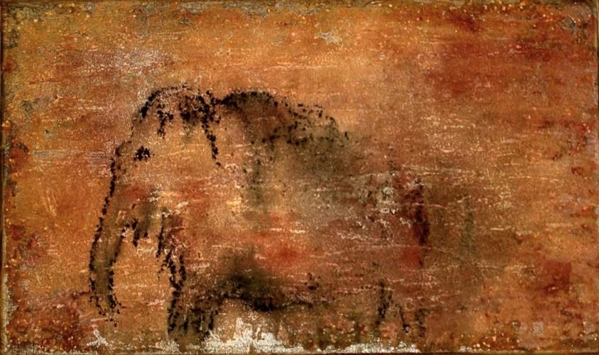 best online amazing price size 7 oT - Mammut, Felsen, Steinzeit, Malerei von ullysses bei ...