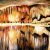 Temperamalerei, Felsen, Landschaft, Wasser