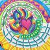 Aquarellmalerei, Zeichnung, Spirale, Lebensfreude