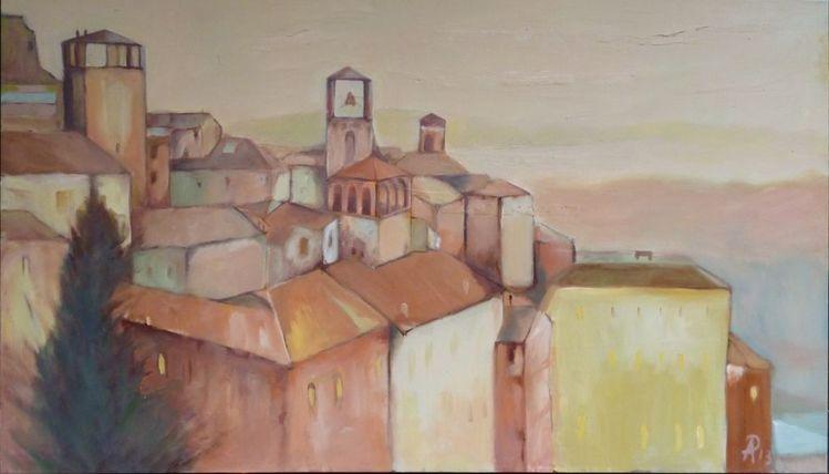 Perugia, Italien, Stadt, Malerei