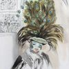 Maske, Pfau, Karneval, Venedig