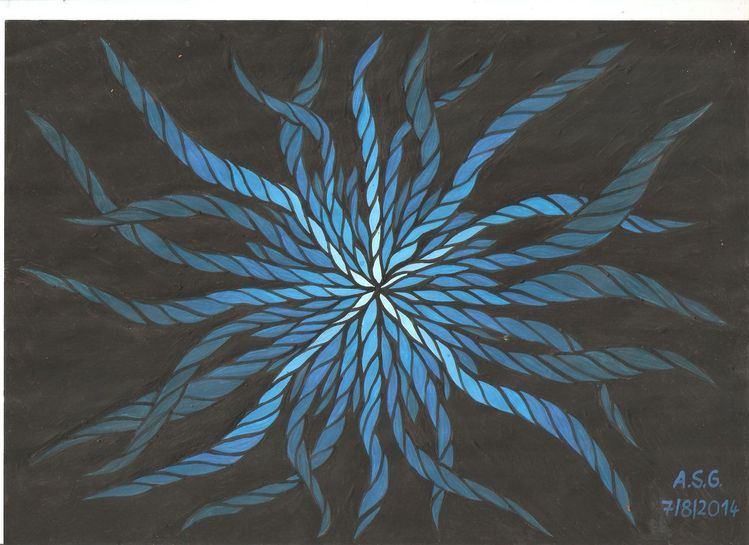 Schwarz, Capri, Sonne, Dispersion, Sonnig, Blau