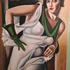 Stil, Grün, Frau, Weiß