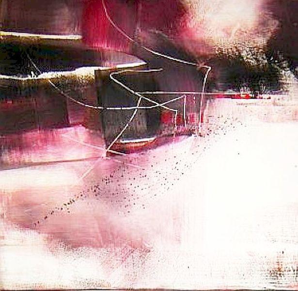 Abstrakt, Schweigen, Malerei, Fantasie,