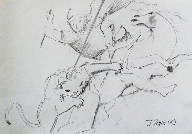 Pferde, Peter paul rubens, Tiere, Zeichnungen,
