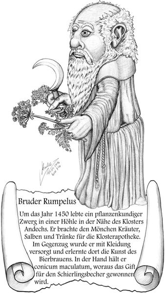 Fantasie, Rumpelstilzchen, Zeichnung, Illustration, Illustrationen, Bruder