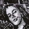 Verliebt in der Stadt ( Ausschnitt) - Liebe, Stadt, Holzschnitt, Druckgrafik