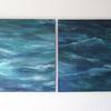 Wasser, Welle, Sturm, Malerei