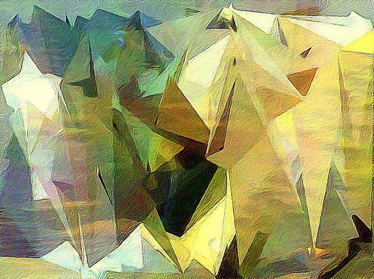 Outsider art, Kristall, Digital, Digitale kunst