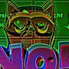 Outsider art, Vorsicht glas, Katze, Digitale kunst