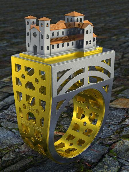 Schmuck, Romanisch, Kirche, Ornament, Metall, Silber