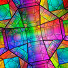 Vielflächner, Spektrum, Polychromatisch, Kristallin