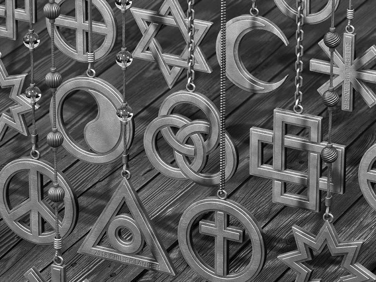 Frieden, Schmuck, Religion, Metall, Glanz, Glas