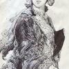 Adel, Frankreich, Haare, 18jahrhundert