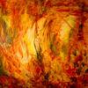 Herbstfarben, Laub, Wärme, Malerei