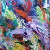 Abstrakt, Frühling, Bunt, Malerei
