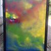 Sprühen, Acrylmalerei, Mülltonne, Abstrakt
