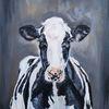 Milchkuh, Bauernhoftiere, Kuh, Holsteiner