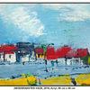 Gelb, Weiß, Wolken, Stadt
