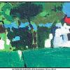 Acrylmalerei, Moderne kunst, Gemälde, Sommer