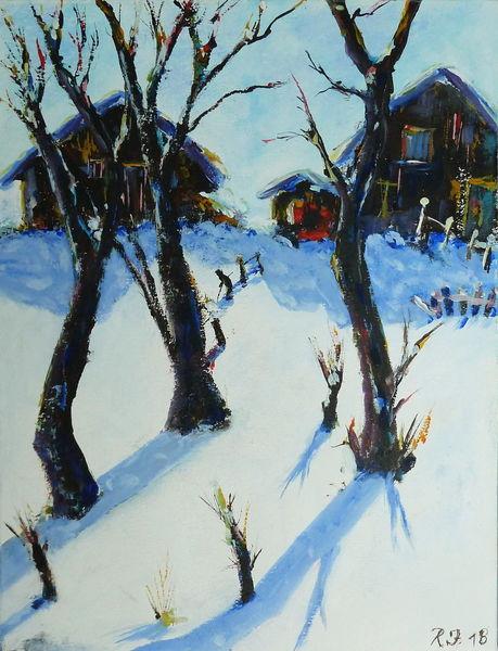 Kalt, Eis, Schnee, Berge, Wald, Winter