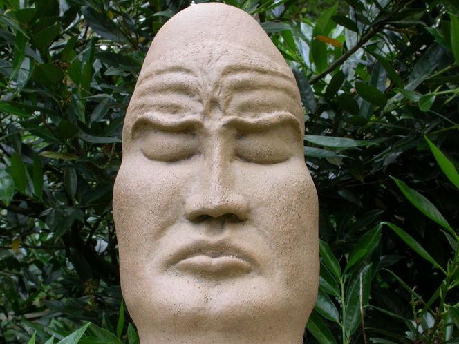 Keramik, Natur, Plastik, Mönch,